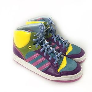 ADIDAS | high top multicolor 10